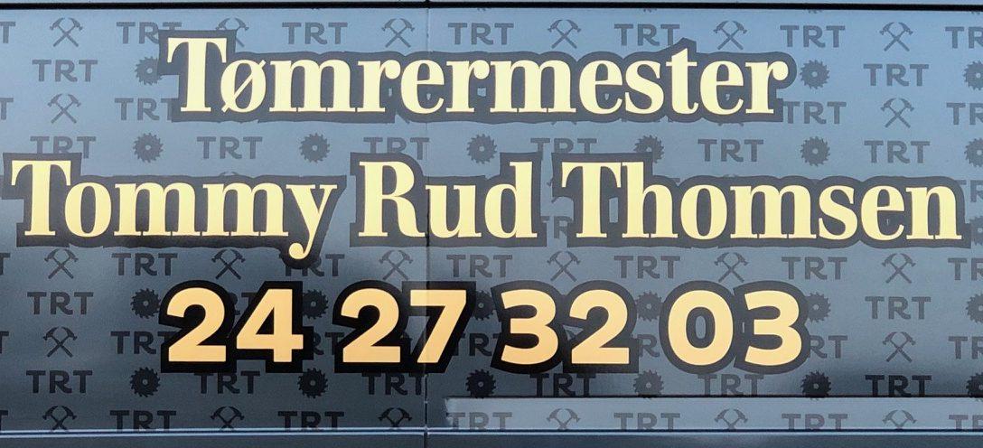 Tømrermester Tommy Rud Thomsen